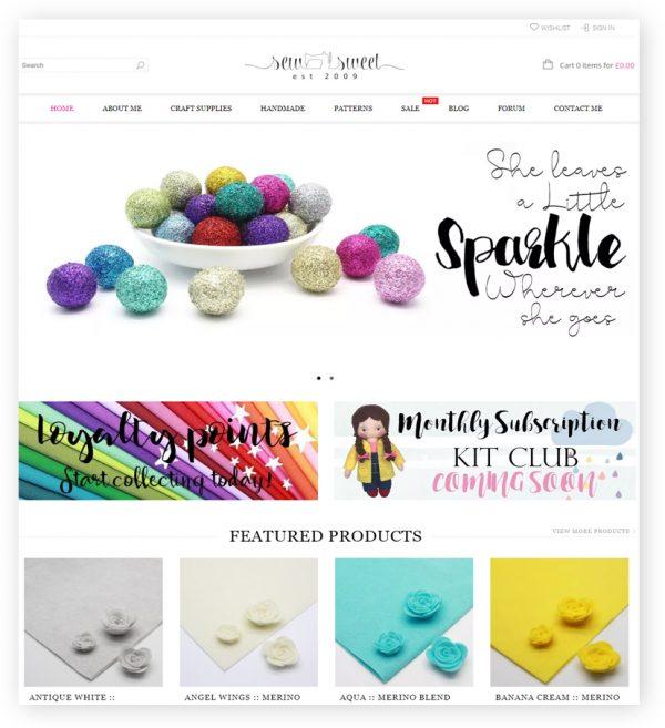 sew sweet by rr webdesign