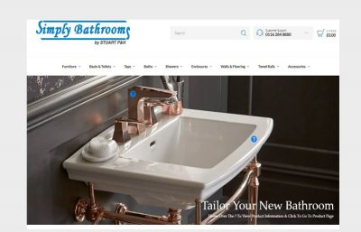 simply bathrooms woocommerce by rrwebdesign leciestershire
