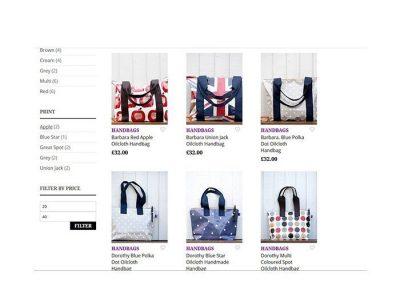 bags oil cloth by filu design