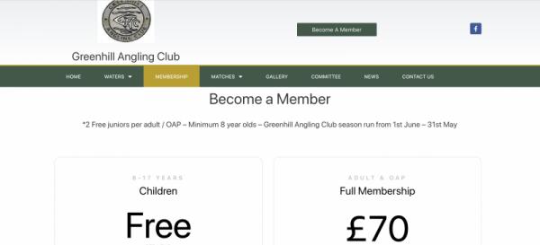 Greenhill angling club