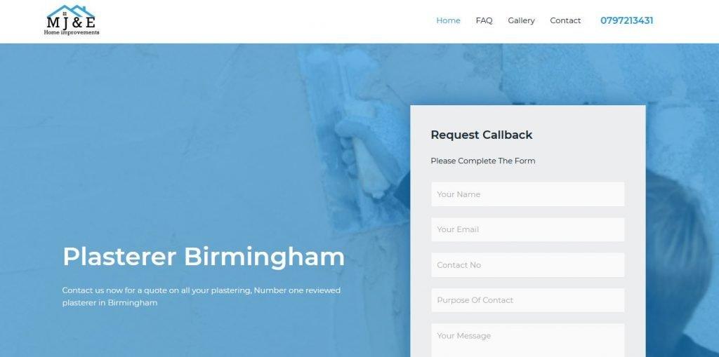 plasterer birmingham
