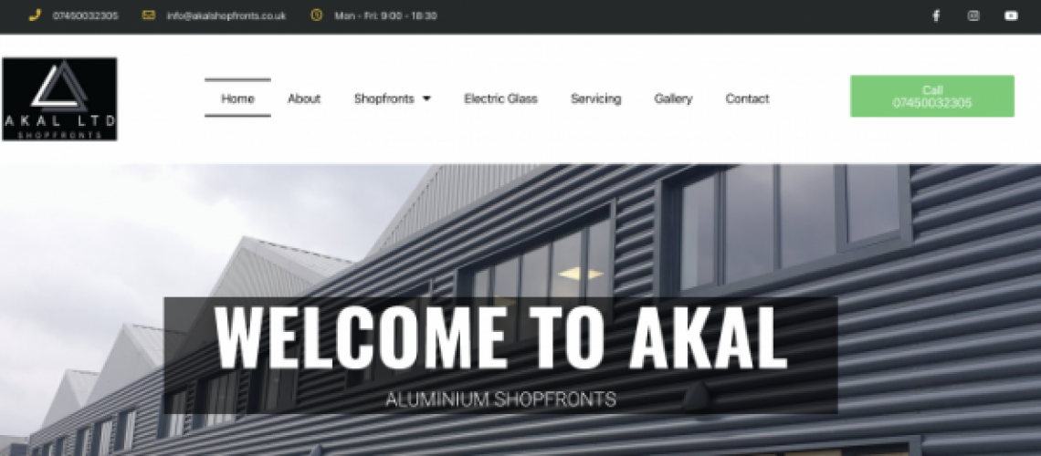 AKAL WEBSITE DESIGN LEICESTER