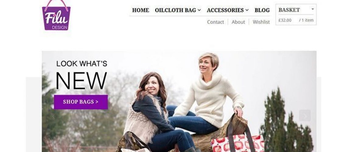 filu design oil cloth bags