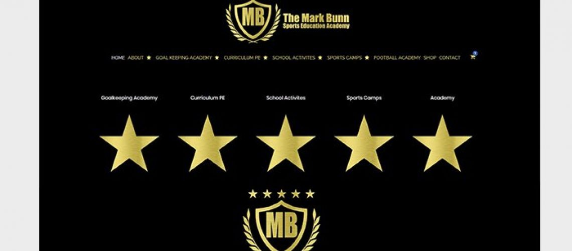 mark bunn sports website design